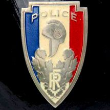 Sureté Nationale, de 1944 à 1966.