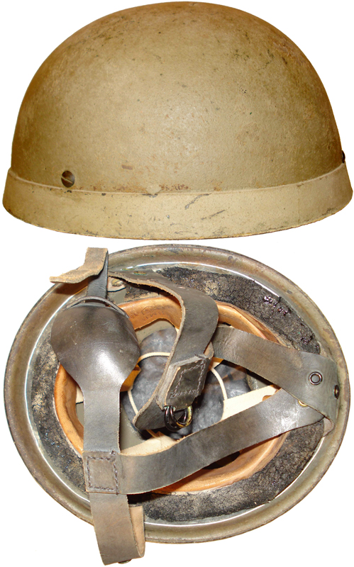 Helmet, Steel, Airborne Troops, 1942.