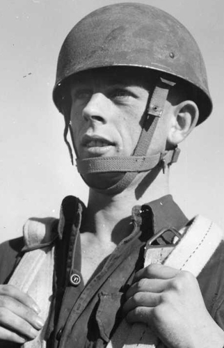Helmet, Steel, Airborne Troops, Mark II.