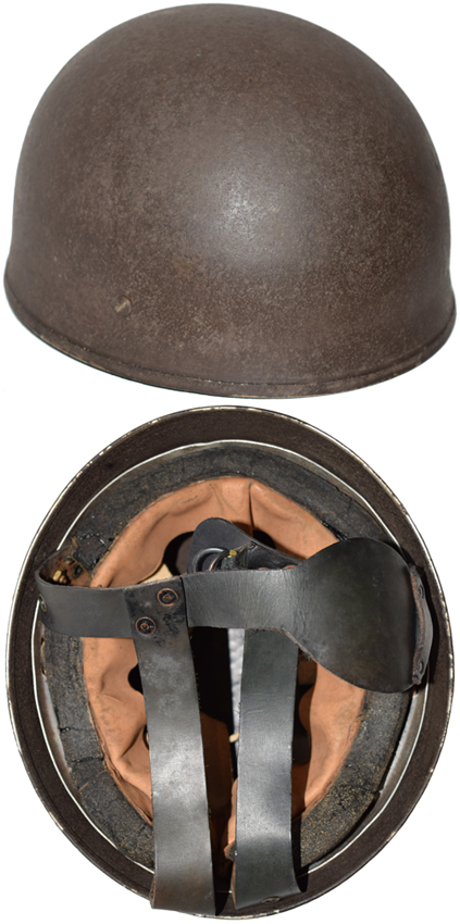 Helmet, Steel, Airborne Troops, Mark I, 1943.
