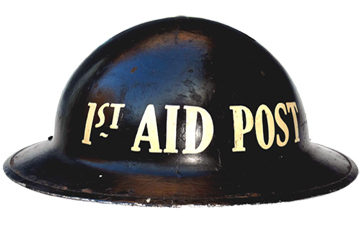 First Aid Post.