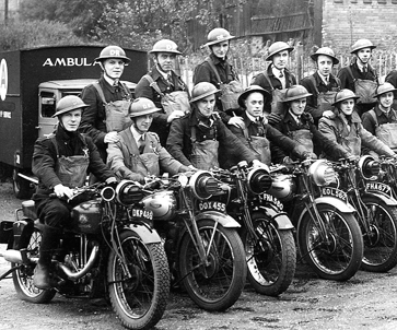 Dispatch rider's of the ARP.