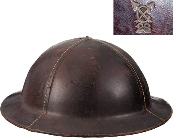 Royal Ordnance Factory Helmet.