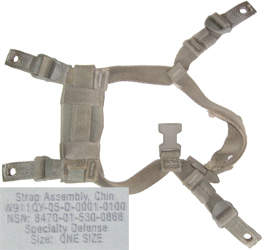 Strap Assembly, Chin.