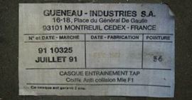 Guéneau Industries 1991.