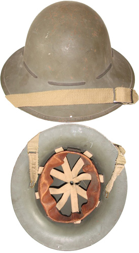 Civilian, Steel Helmet.