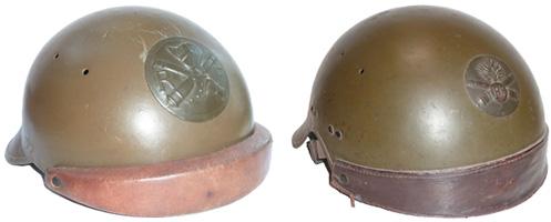 Casques à bandeau modèle 35 et 36 DCA.