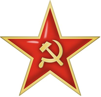 Les casques de l'armée rouge.